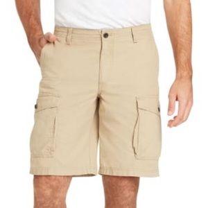 Izod Saltwater Cargo Shorts Men's Size 40